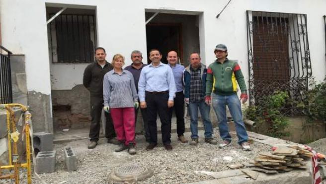 Una de las actuaciones en Fondón ha permitido construir un Centro de Mayores.