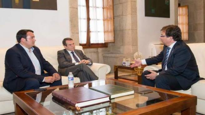 Reunión de Vara con el presidente de la FEMP