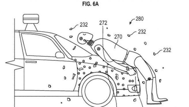 Diagrama presentado por Google sobre su proyecto de seguridad para su coche sin conductor.
