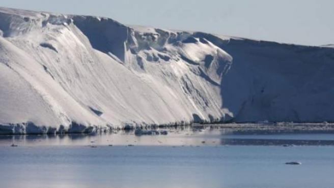 Imagen del glaciar antártico Totten.