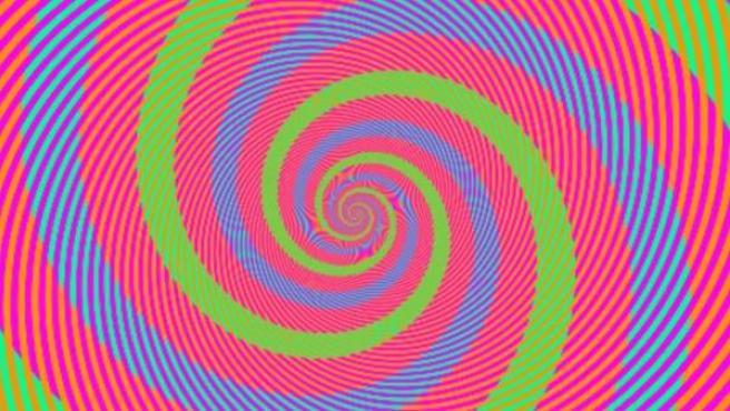 Ilusión óptica creada por Akiyoshi Kitaoka, profesor de Psicología de la Universidad Ritsumeikan de Kyoto, en Japón.