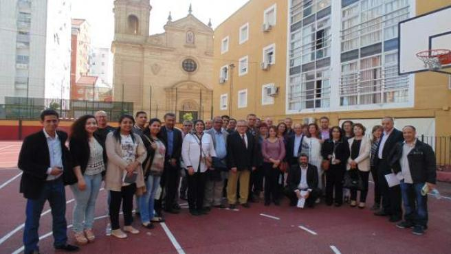 Visita de una delegación de Marruecos a red de protección de menores