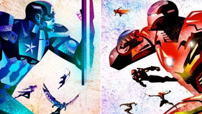 'Civil War': Los mejores pósters artísticos de la película