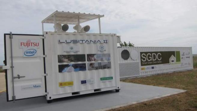 Súpercomputador Lusitania II que se ha instalado en Cáceres