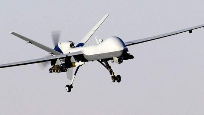 Imagen de un MQ-9 Reaper, uno de los modelos de 'drones' que utiliza Estados Unidos.
