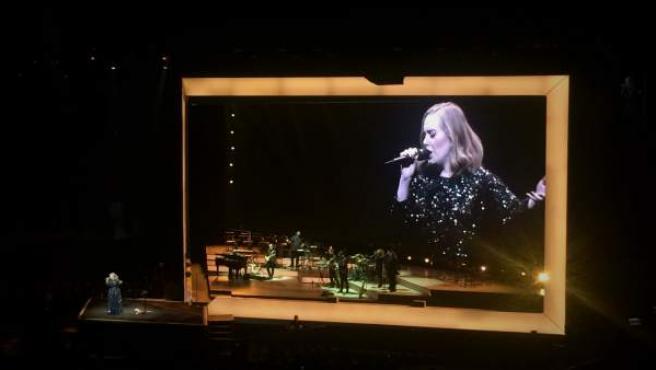 Adele en concierto en el Palau Sant Jordi de Barcelona