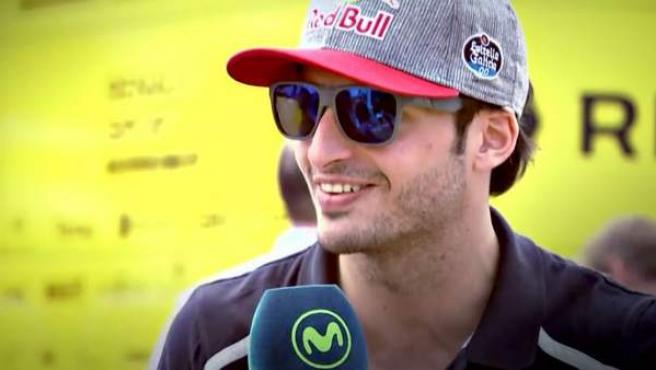 El piloto de Toro Rosso Carlos Sainz.