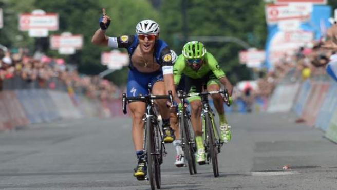 Matteo Trentin (Etixx) gana la decimoctava etapa del Giro 2016