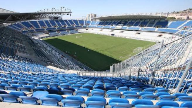 Estadio de fútbol La Rosaleda