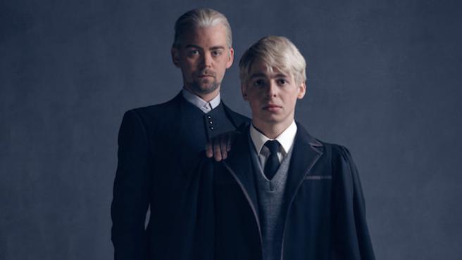Así son Draco Malfoy y su hijo en 'Harry Potter and the Cursed Child'