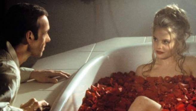 Una de las más recordadas escenas de la película de 1999 'American Beauty'.