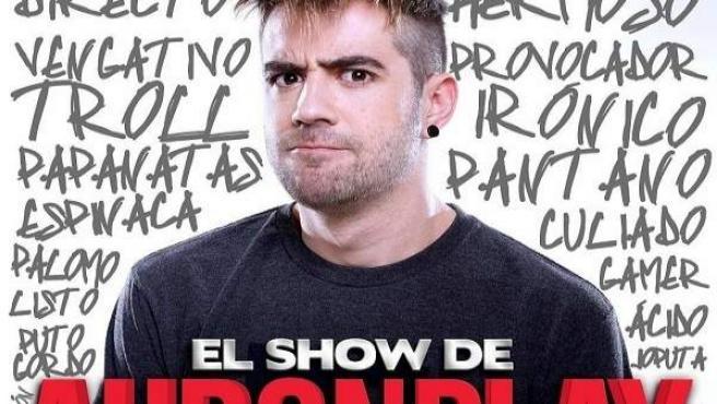 El show de Auronplay este domingo en Cartagena