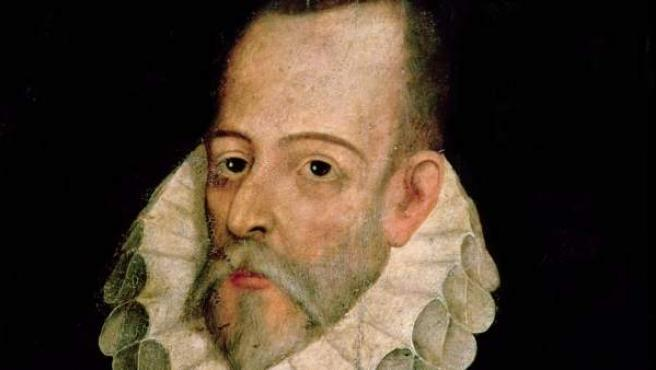 Retrato de Miguel de Cervantes, de Juan de Jáuregui
