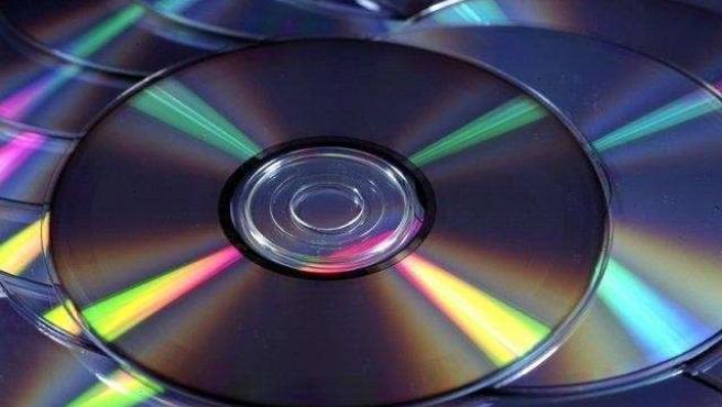 Un disco compacto.