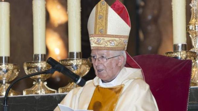 El cardenal Antonio Cañizares.