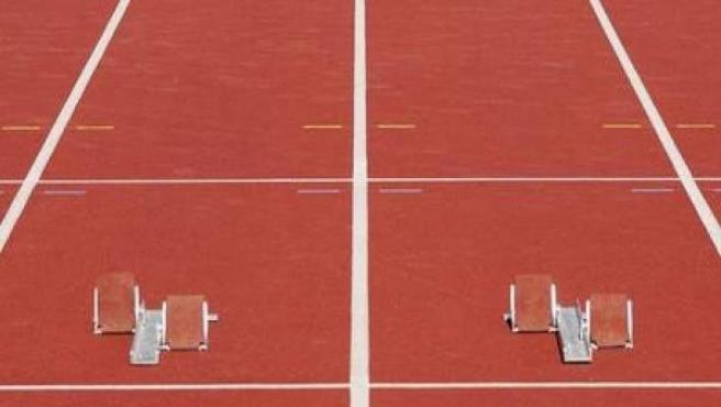 Una pista de atletismo, en una imagen de archivo.