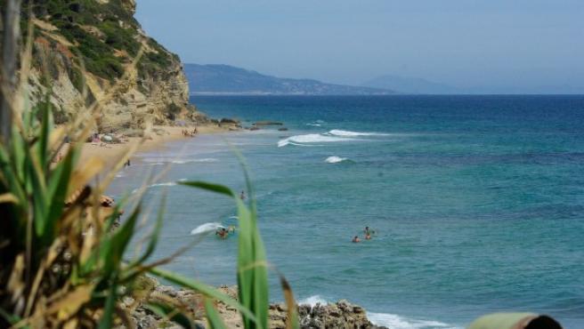 Imagen de la playa de Caños de Meca, en Cádiz