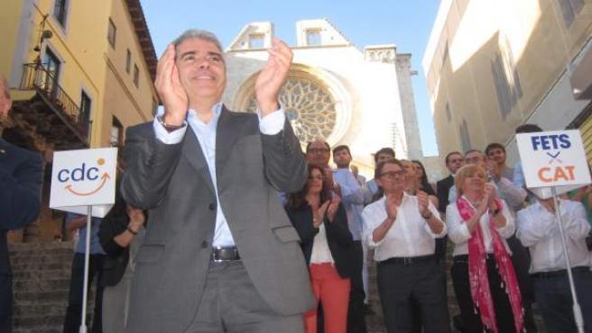 Francesc Homs, Artur Mas (CDC)