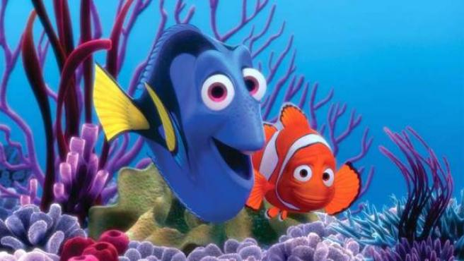 Dory y Nemo, los peces protagonistas de la secuela que se prepara.