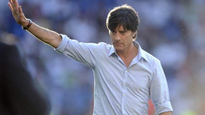 Joachim Low, entrenador de la selección de Alemania.