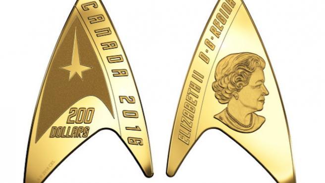 El dinero de 'Star Trek' es legal en Canadá