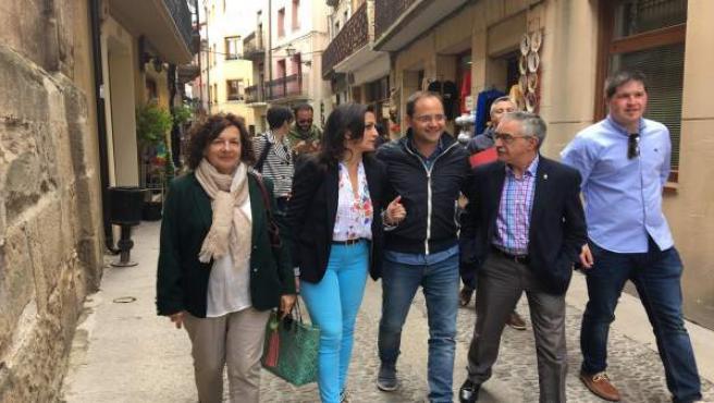 César Luena visita Santo Domingo