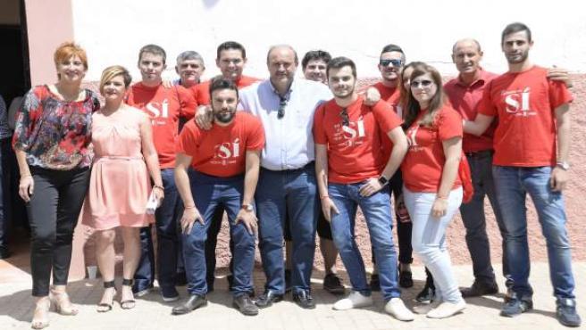 Nota, Corte Y Foto PSOE Encuentro Comarcal En San Clemente