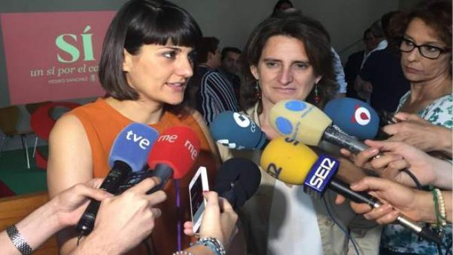 María González Veracruz y Teresa Ribera