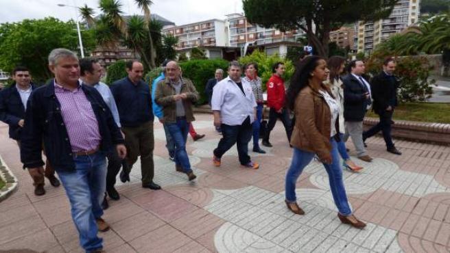 Los candidatos de C's por Cantabria y Vizcaya en Castro