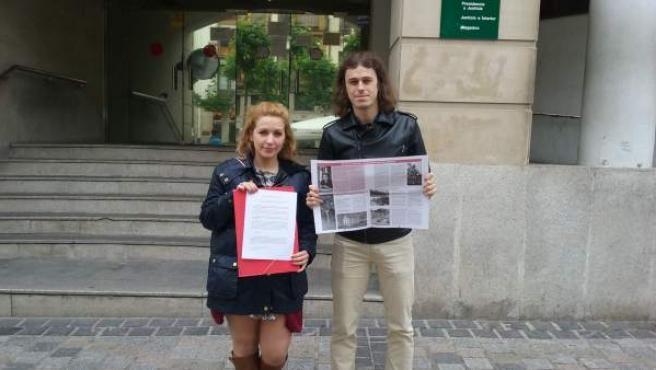 Nota Cambia Logroño Denuncia Junta Electoral