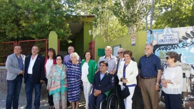Acto de la consejera de Igualdad en Granada
