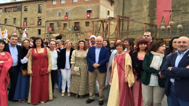 """Ceniceros Anima A Todos A Visitar Las XX Jornadas Medievales De Briones """"Un Acon"""