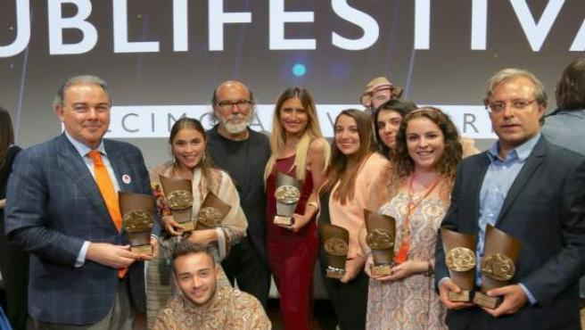 Alumnos de Cesine premiados en Publifestival 2016