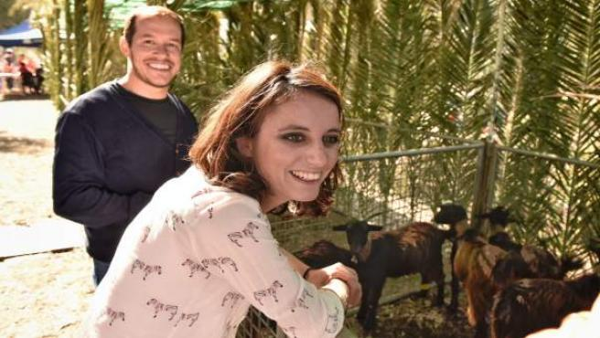 PP LA PALMA CAMPAÑA: Andrea Levy En La Feria En Los Llanos De Aridane