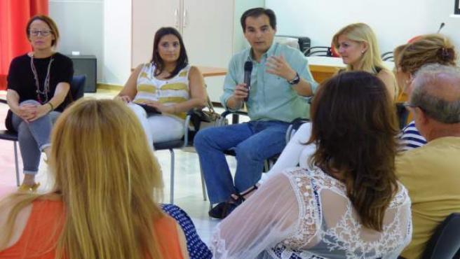 El candidato del PP de Córdoba al Congreso José Antonio Nieto