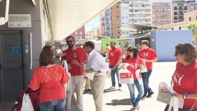 El candidato del PSOE de Huelva José Juan Díaz Trillo
