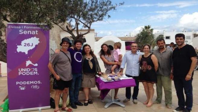 Candidatos de Units Podem MÉS en Formentera