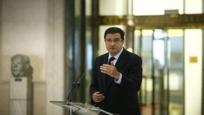 Óscar López, del PSOE, en el Congreso