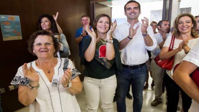 Fernández Pacheco en una jornada con niños y adultos de OCAL