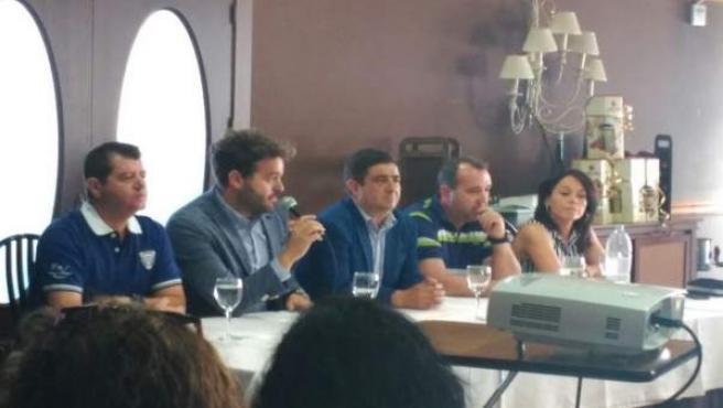 Graduación de alumnos de Bedmar, con el presidente de Diputación de Jaén