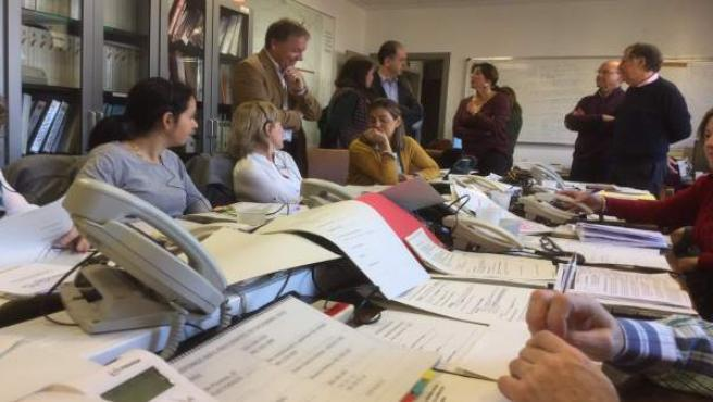 Transmisión de datos en la jornada electoral