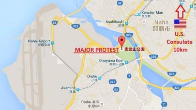 """El Consejo de Seguridad estadounidense avisó de la manifestación y posibles """"aglomeraciones"""" en la zona."""