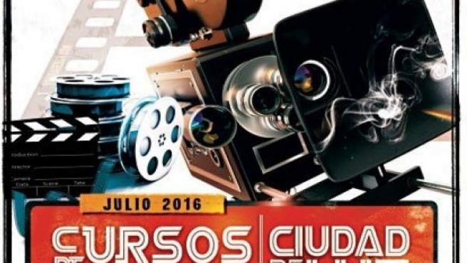 Cartel de los cursos impartidos en Ciudad de la Luz