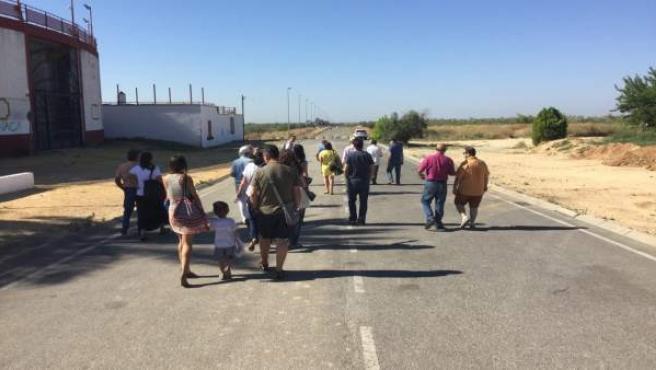 Visita de Sergio Pascual a carretera de Espartinas