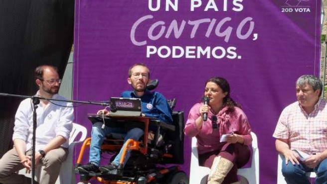 Acto de campaña de Unidos Podemos