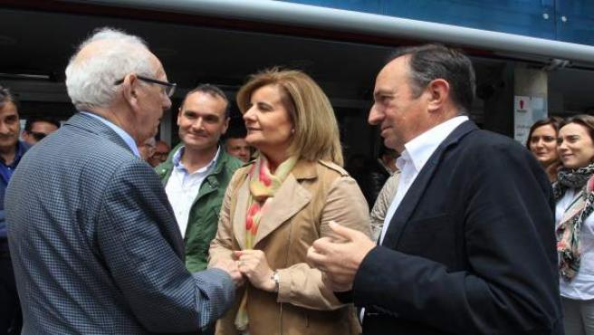 Fátima Báñez en Arnedo