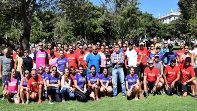 Primer entrenamiento oficial del III Maratón de Santa Cruz