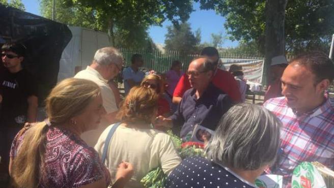 El candidato socialista por Huelva José Juan Díaz Trillo