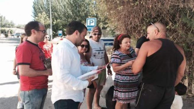 Reparto electoral del PSOE en Jaén