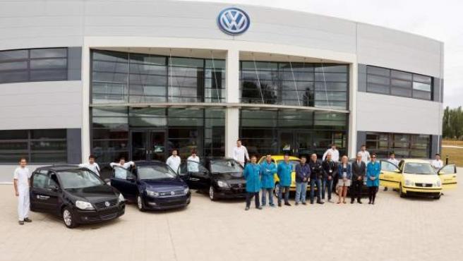 Volkswagen Polo dona seis coches Polo a tres centros de FP.